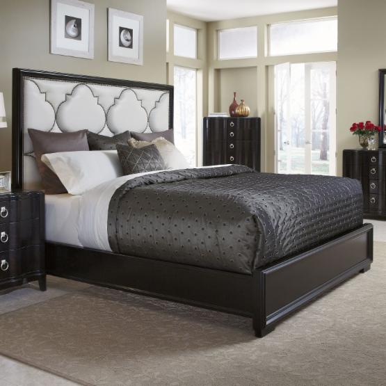 A.R.T. Furniture Cosmopolitan Upholstered Panel Bed
