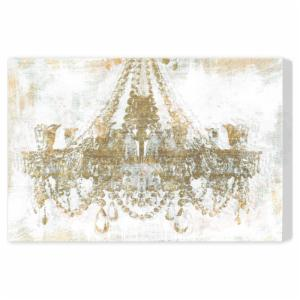 Oliver Gal Gold Diamonds Canvas Art