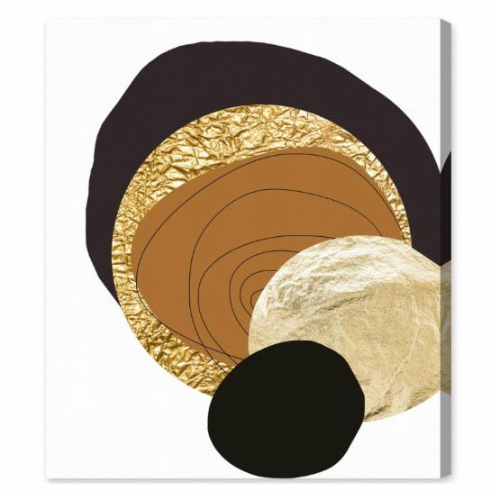 Oliver Gal Golden Thoughts Canvas Wall Art