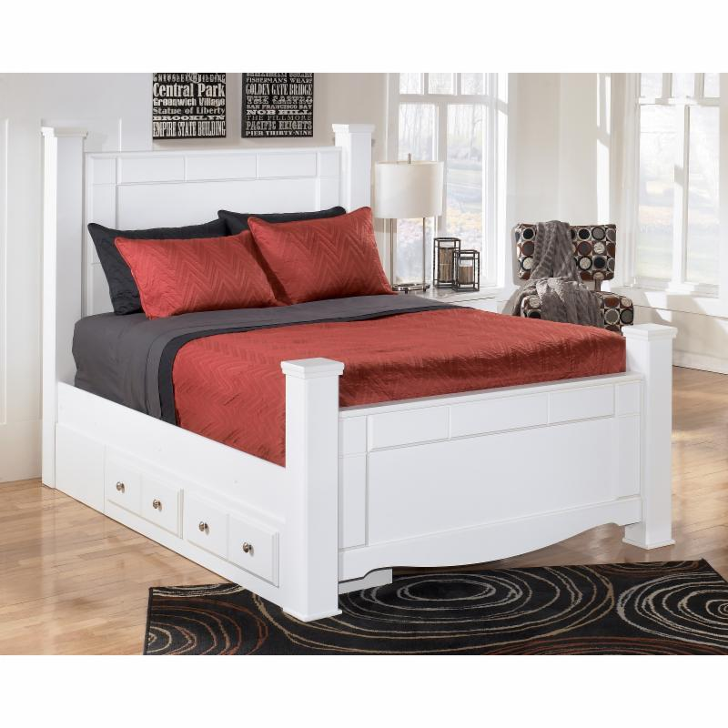 Signature Design by Ashley Weeki Poster Storage Bed - ASHY2798