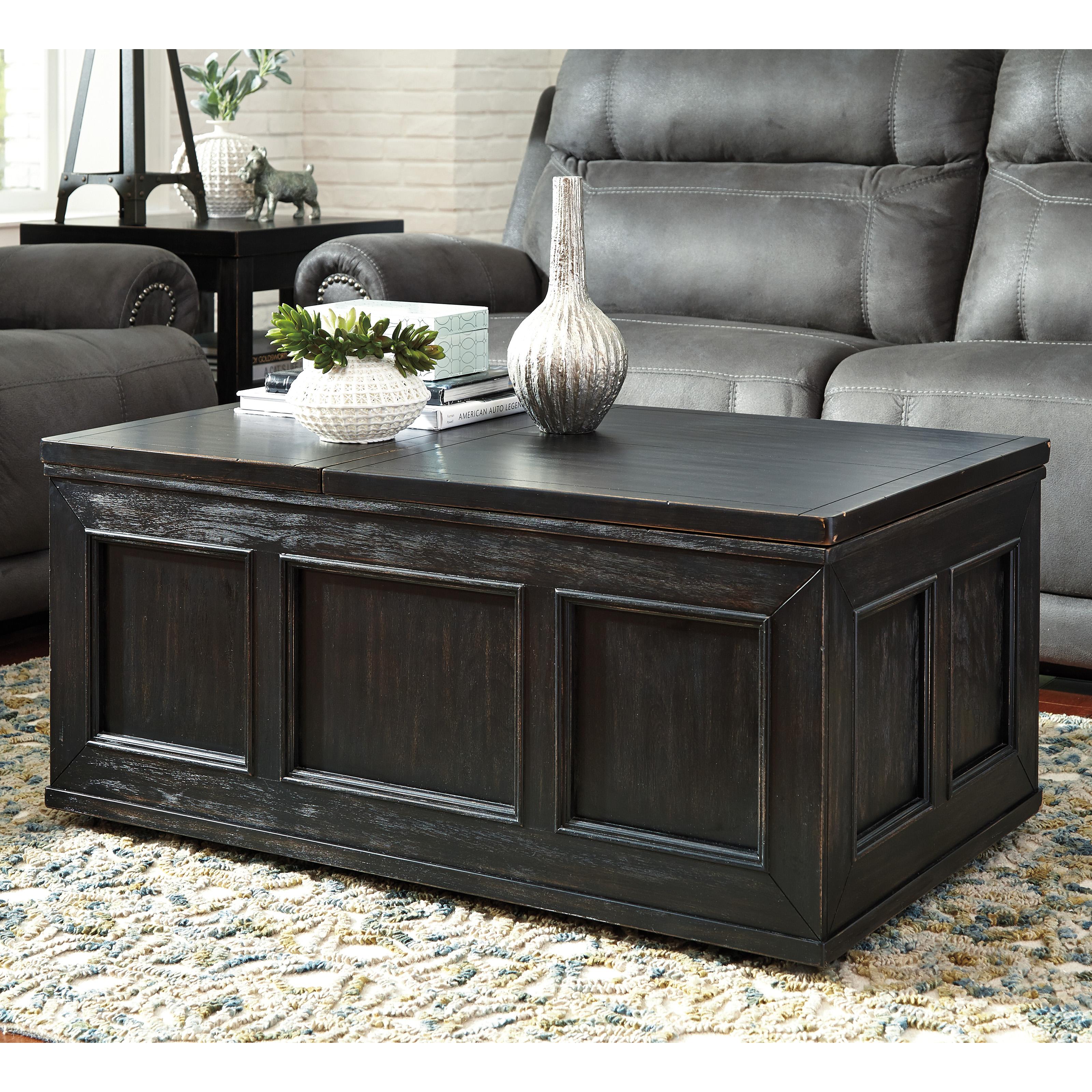 Picket House Furnishings Steele Lift Top Coffee Table