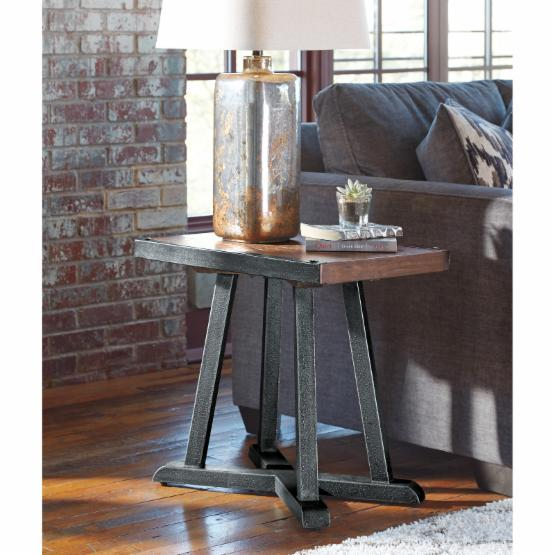 Signature Design by Ashley Zenfield Chair Side End Table