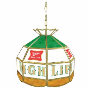 Trademark Miller Stained Glass 16 Inch Pool Table Light