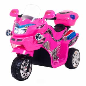 Lil Rider FX 3 Wheel Motorcycle Bike Battery Powered Riding Toy - Pink