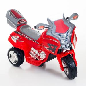 Lil Rider Top Racer Sport Bike Battery Powered Riding Toy - Red