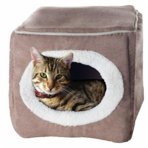 PAW Cozy Cave Enclosed Cube Pet Bed