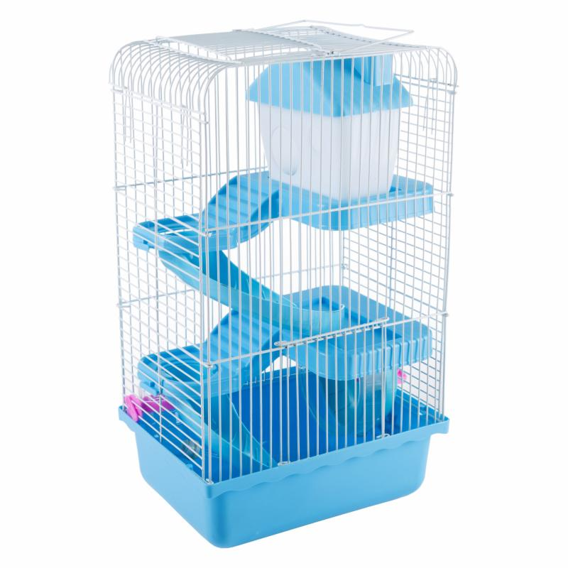 Petmaker Hamster Cage Habitat with Attachments and Accessories - M320259