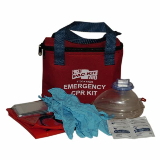 Pac-Kit Soft Pouch Emergency CPR Kit