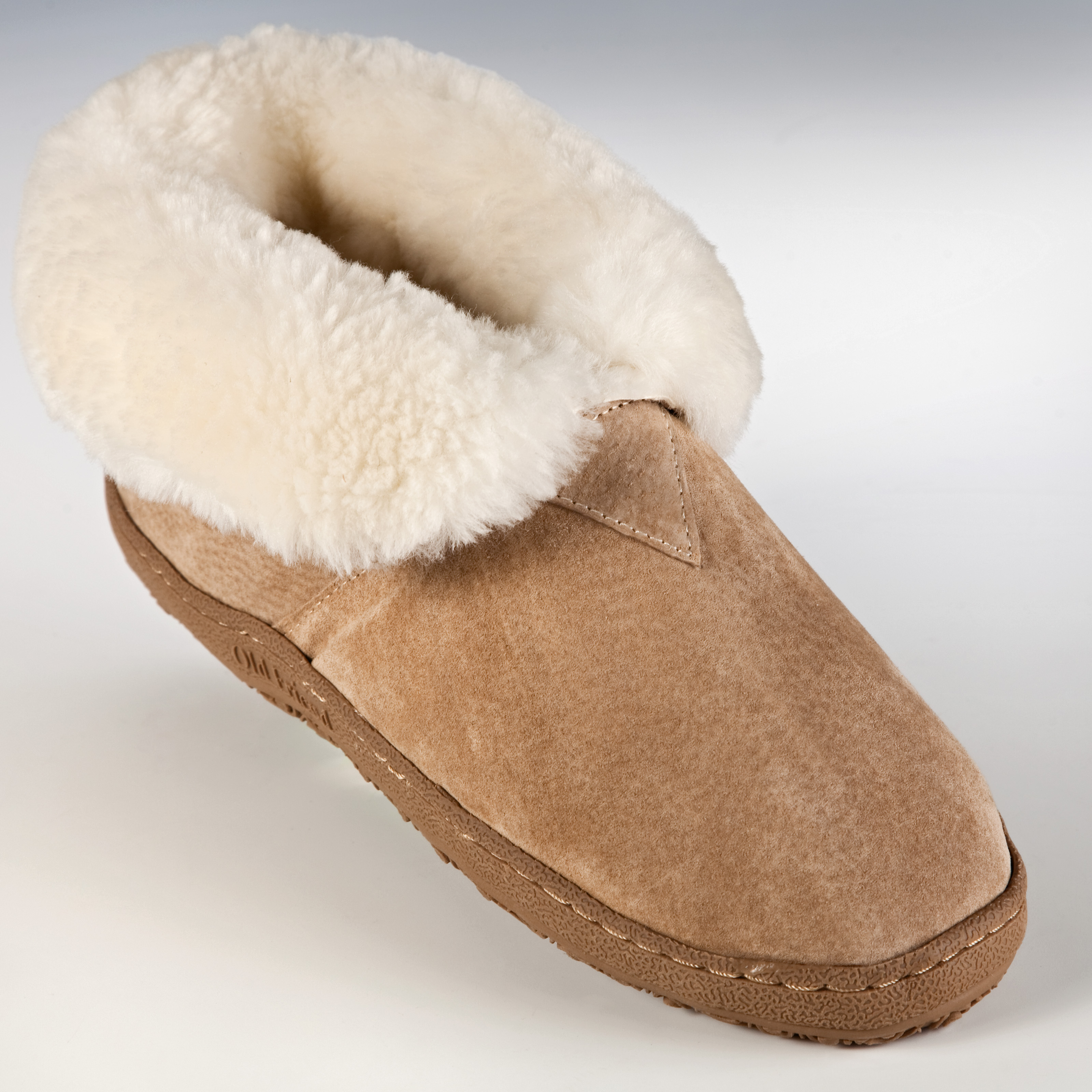 Old Friend Womens and Mens Bootee Slippers - Mens Slippers at ...