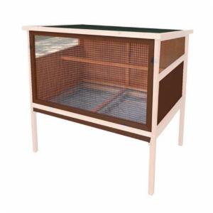 Advantek Urban Chicken Coop - Auburn & White