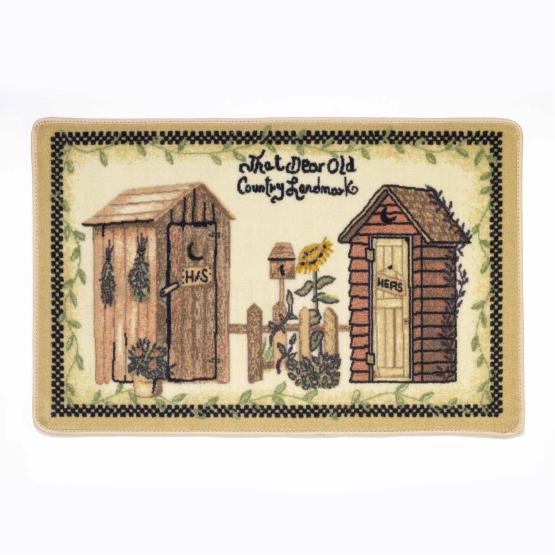 Avanti Linens Outhouses Rug