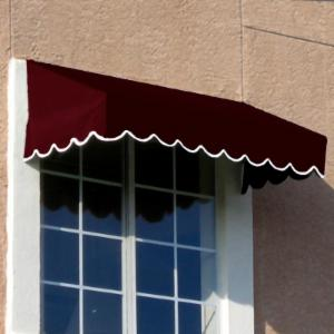 Awntech Beauty-Mark San Francisco 6 ft. Low Eaves Window/Door Awning