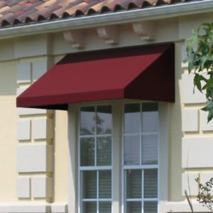 Awntech Beauty-Mark New Yorker 5 ft. Low Eaves Window/Door Awning