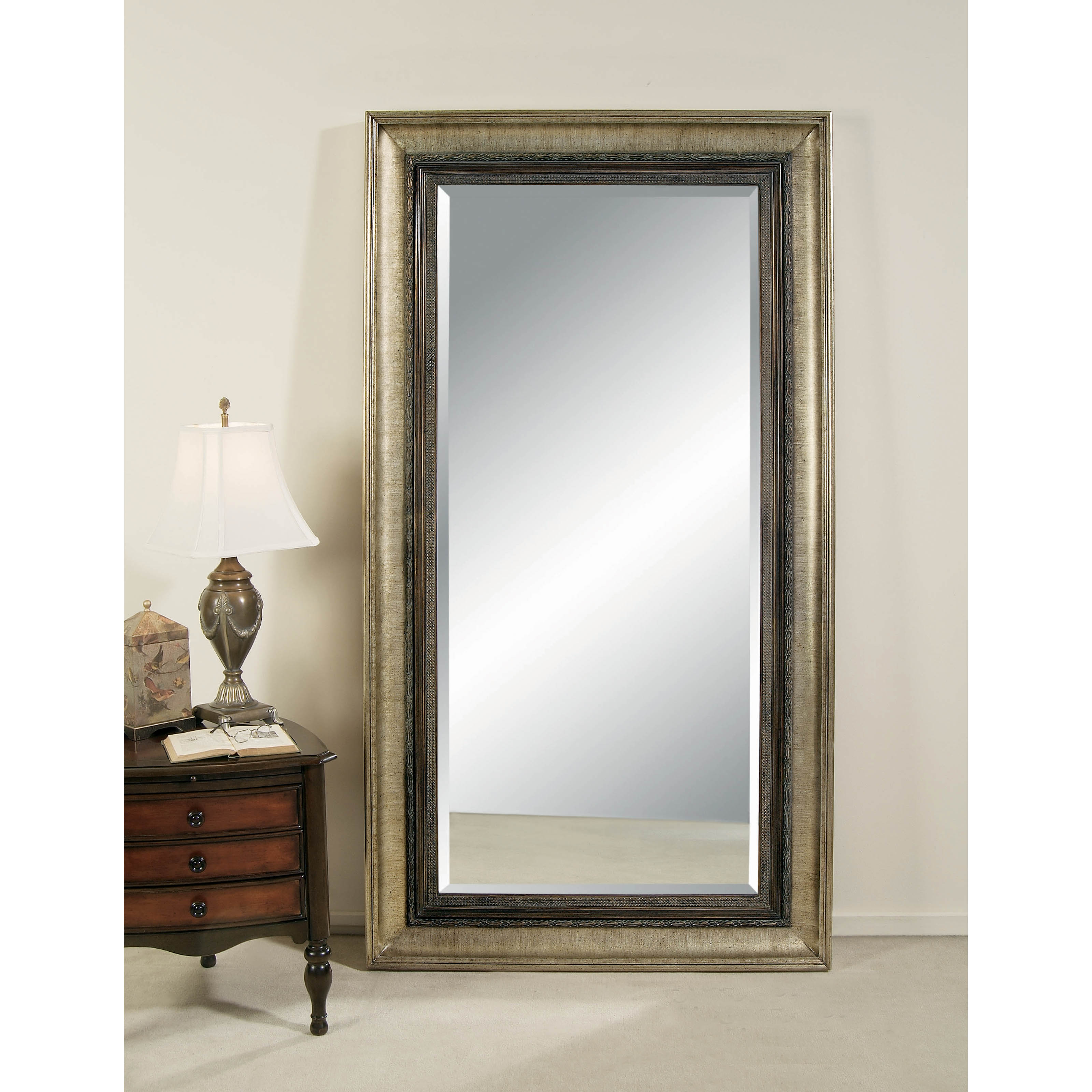 Portia Leaning Wall Mirror - 45W x 83H in. at Hayneedle