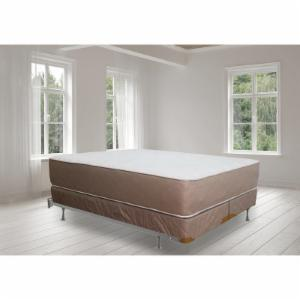 Continental Sleep 14 in. Firm Fully Assembled Orthopedic Innerspring Mattress and Split Box Spring