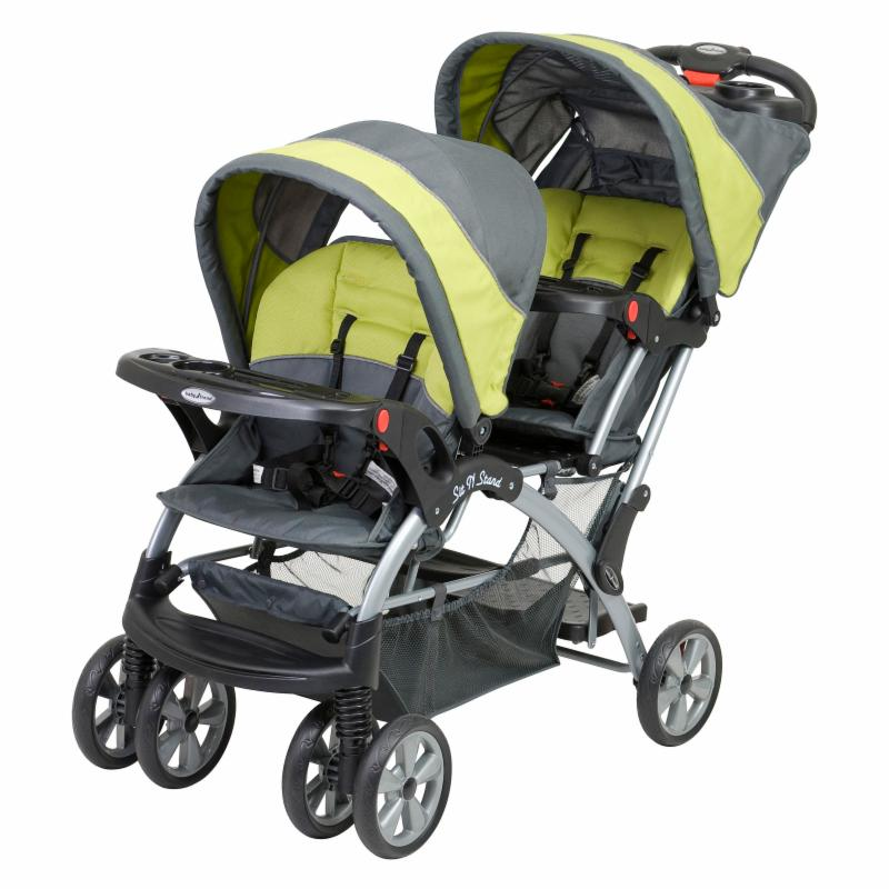 Baby Trend Sit n Stand Double Stroller - Carbon - SS76710