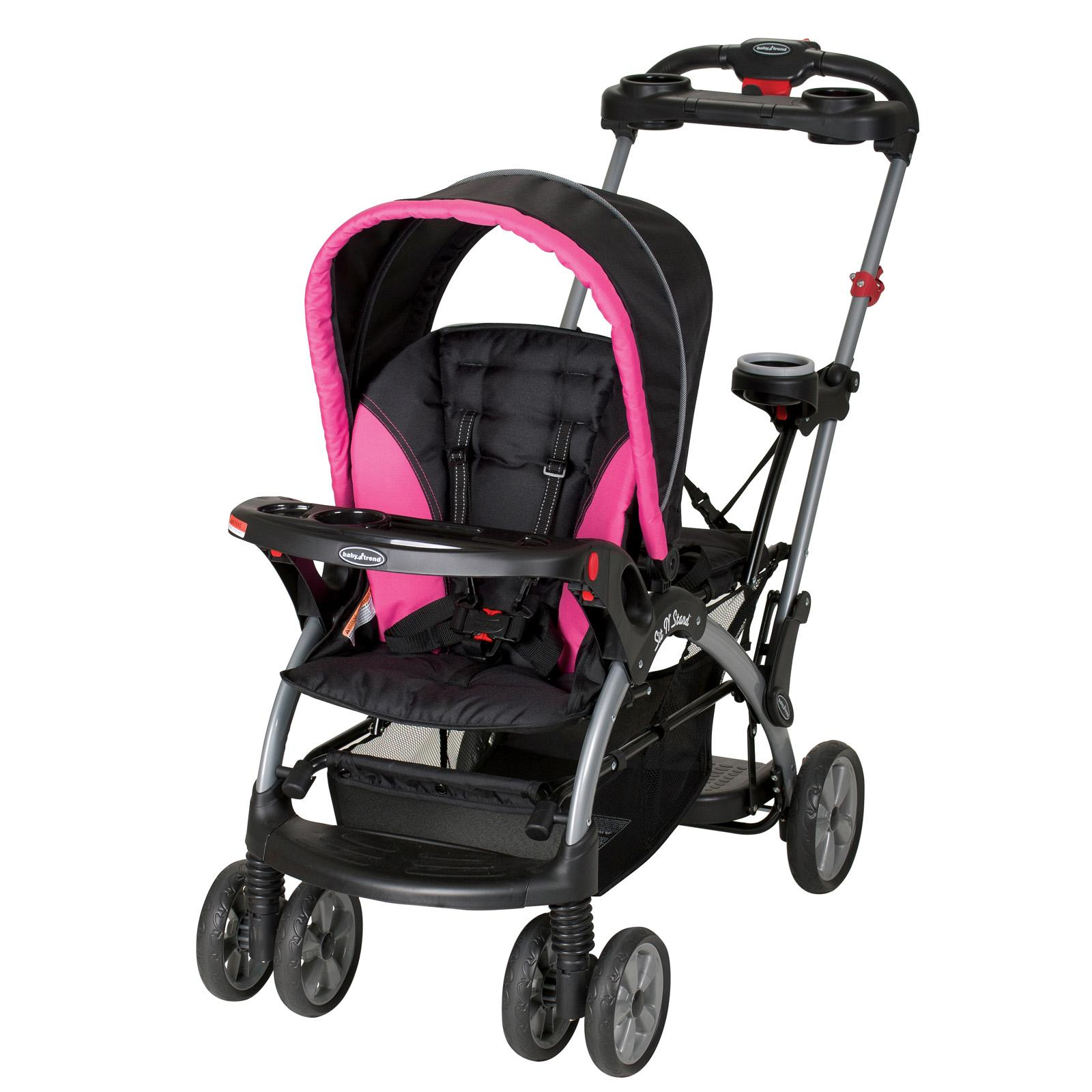 Baby Trend Sit-N-Stand Ultra Stroller - Bubble Gum - SS66044
