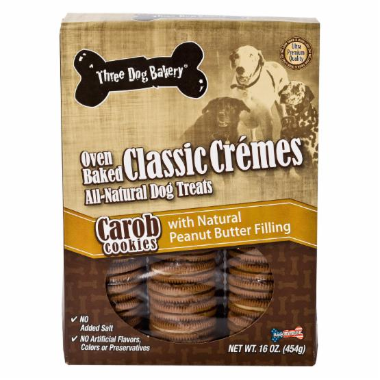 Classic Cremes Carob Cookies