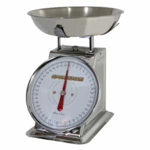 Sportsman 44 lb. Stainless Steel Dial Scale