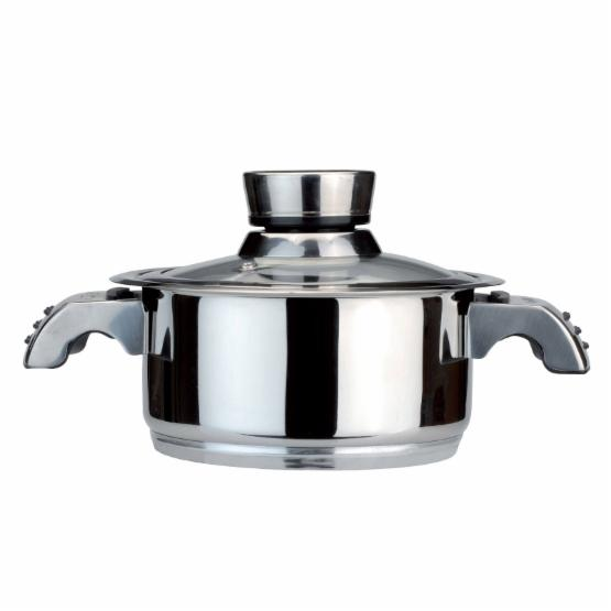 BergHOFF Invico Vitrum Stainless Steel Dutch Oven with Lid