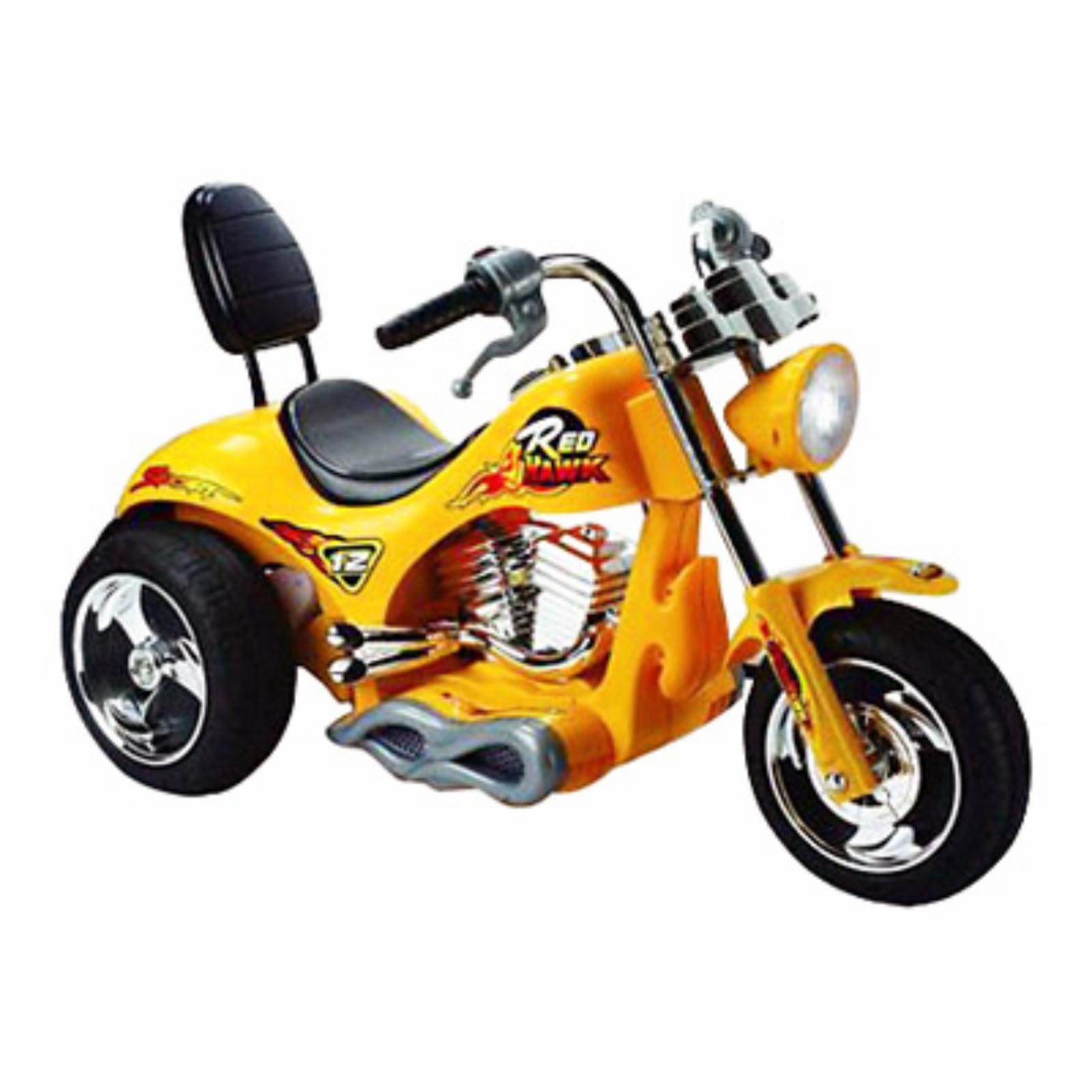 Mini Motos Red Hawk Motorcycle Battery Powered Riding Toy...