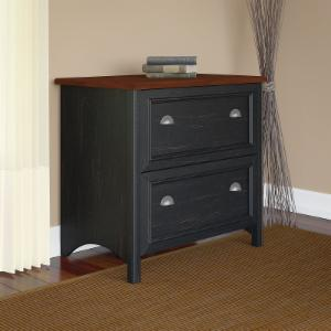 Stanford Lateral File Cabinet - Antique Black