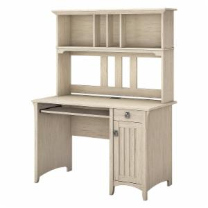 Salinas Mission Desk and Hutch - Antique White