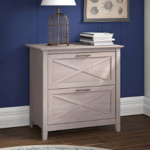 Key West Lateral File Cabinet - Washed Gray