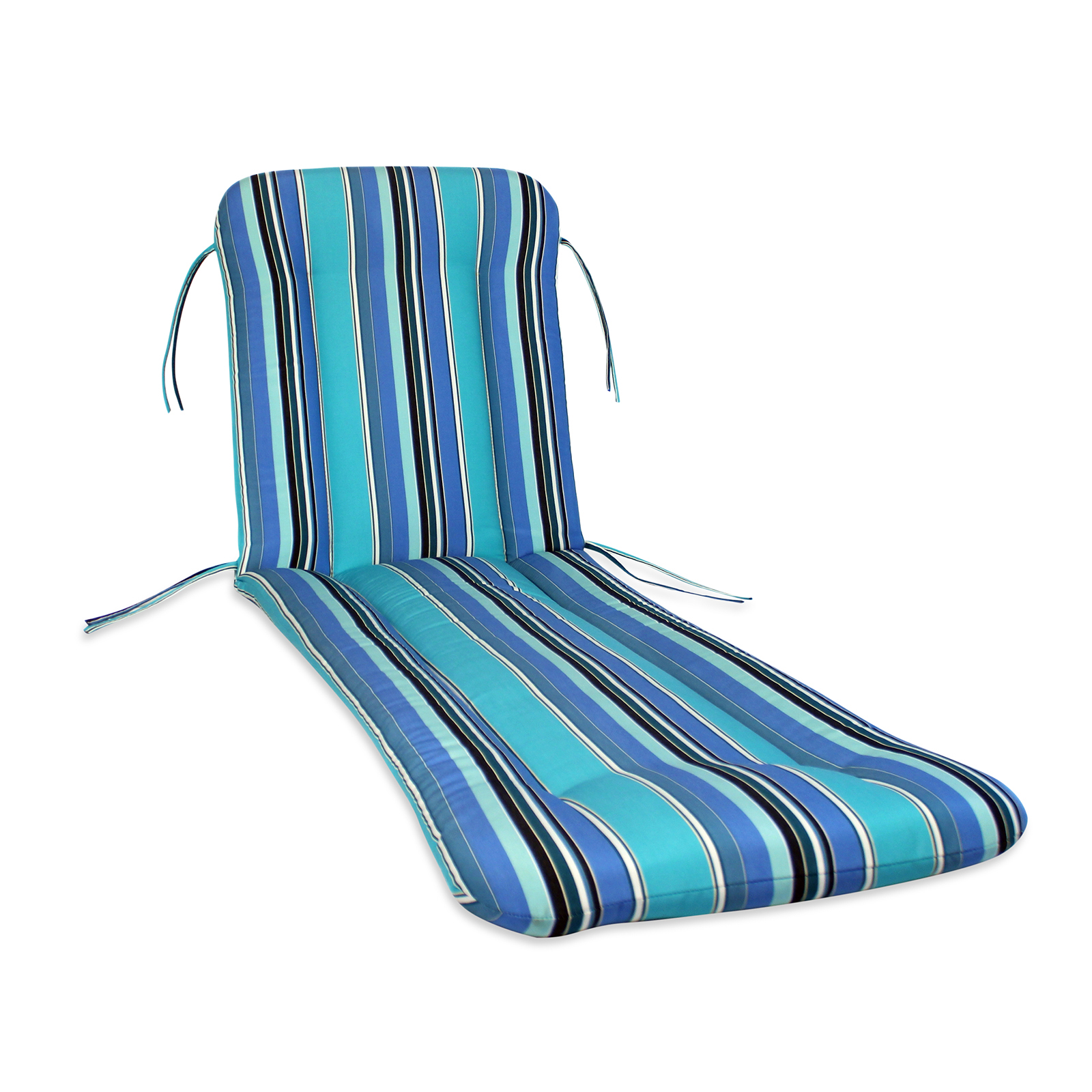 Charming Comfort Classics Sunbrella Chaise Lounge Cushion   Outdoor Cushions At  Hayneedle