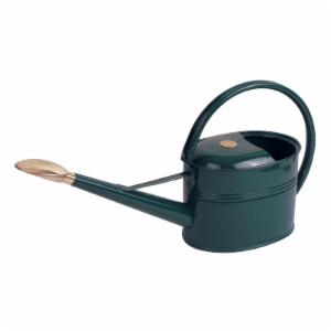 Haws Slimcan 5 Liter Galvanized Painted Watering Can with Oval Rose