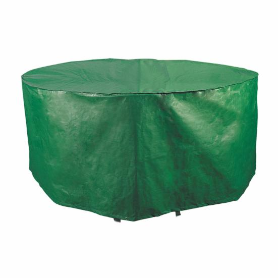 Bosmere B320 Round Patio Set Cover - 74 diam. in. - Green