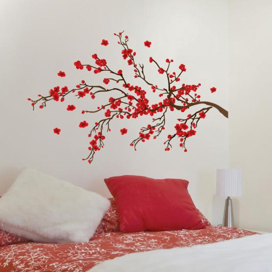 Wall Pops Red Branch Wall Decals