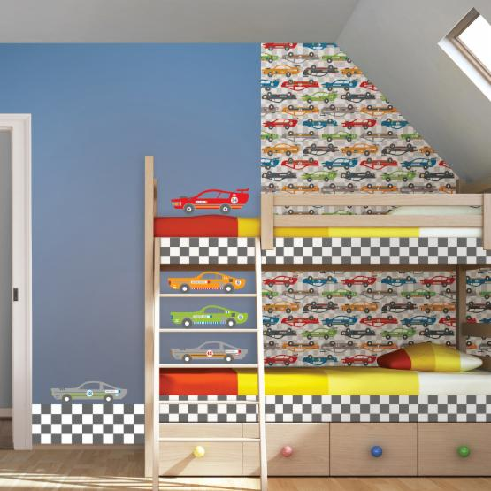 Wall Pops Rally Racers Dots Wall Decals