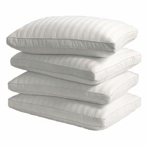 Blue Ridge Home Fashions 350 Thread Count Down Alternative Bed Pillow - Set of 4