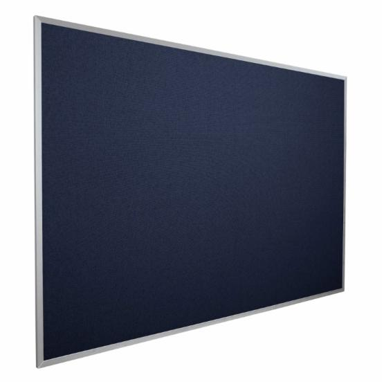 Best-Rite Fabric Covered Add-Cork Tackboard - 48W x 33.75H in.