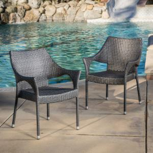 Best Selling Home Decor Furniture Madelyn Outdoor Bistro Arm Chair - Set of 2