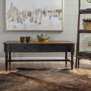 Best Selling Home Myrtle Archaize Wood Accent Coffee Table