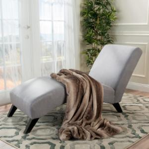 Best Selling Home Bolton Fabric Chaise Lounge