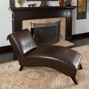 Charlotte Chaise Lounge - Brown