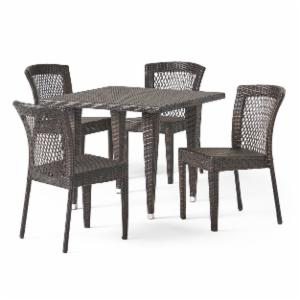 Dusk All-Weather Wicker Patio Dining Set - Seats 4