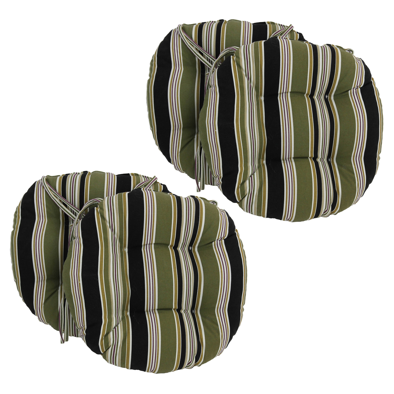 round micro suede dining chair cushions with ties set of 4 hayneedle