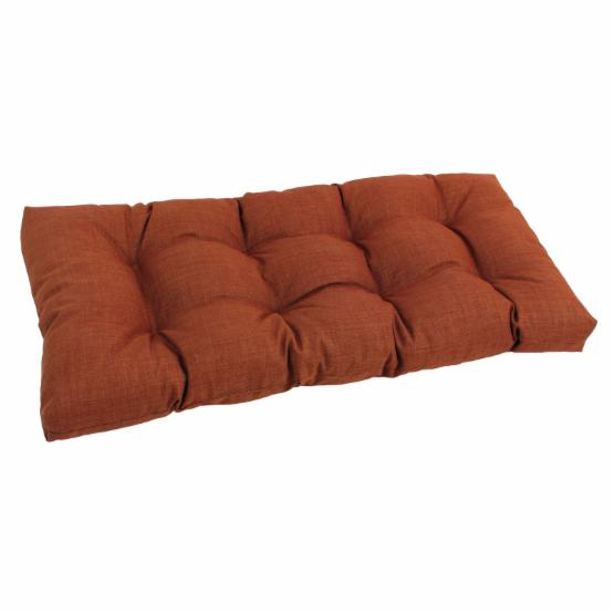 Blazing Needles Reo Solid All Weather Outdoor Loveseat Cushion