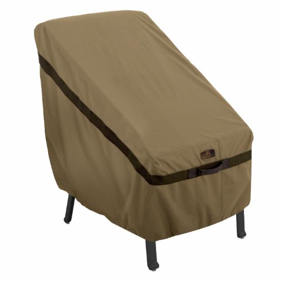 Classic Accessories Hickory Highback Chair Cover - Earth
