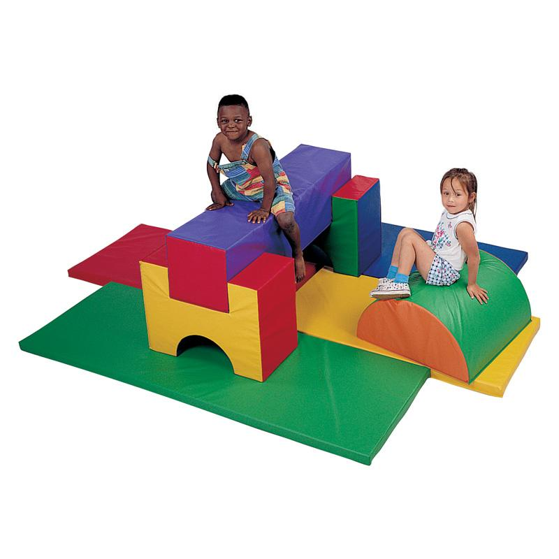 CHILDREN'S FACTORY Jr. Activity Combination Soft Play - 8...
