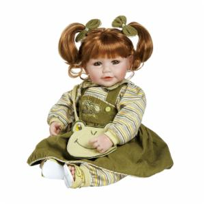 Adora Froggy Fun Girl Red Hair with Green Eyes 20 in. Doll