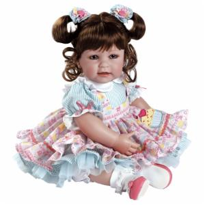 Adora Piece of Cake Brown Hair with Blue Eyes 20 in. Doll