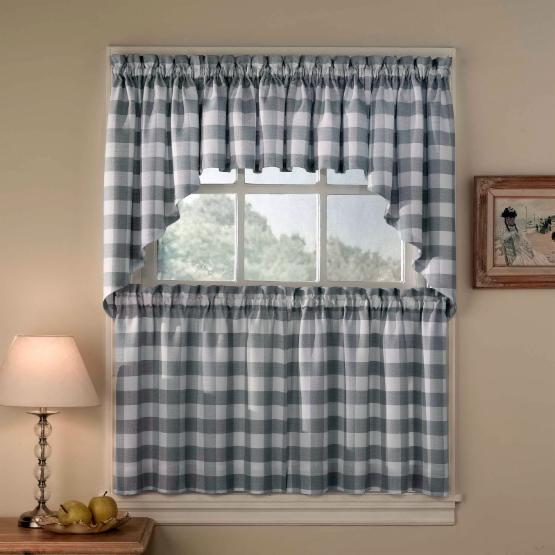 CHF Industries Rowan Plaid Tailored Valance