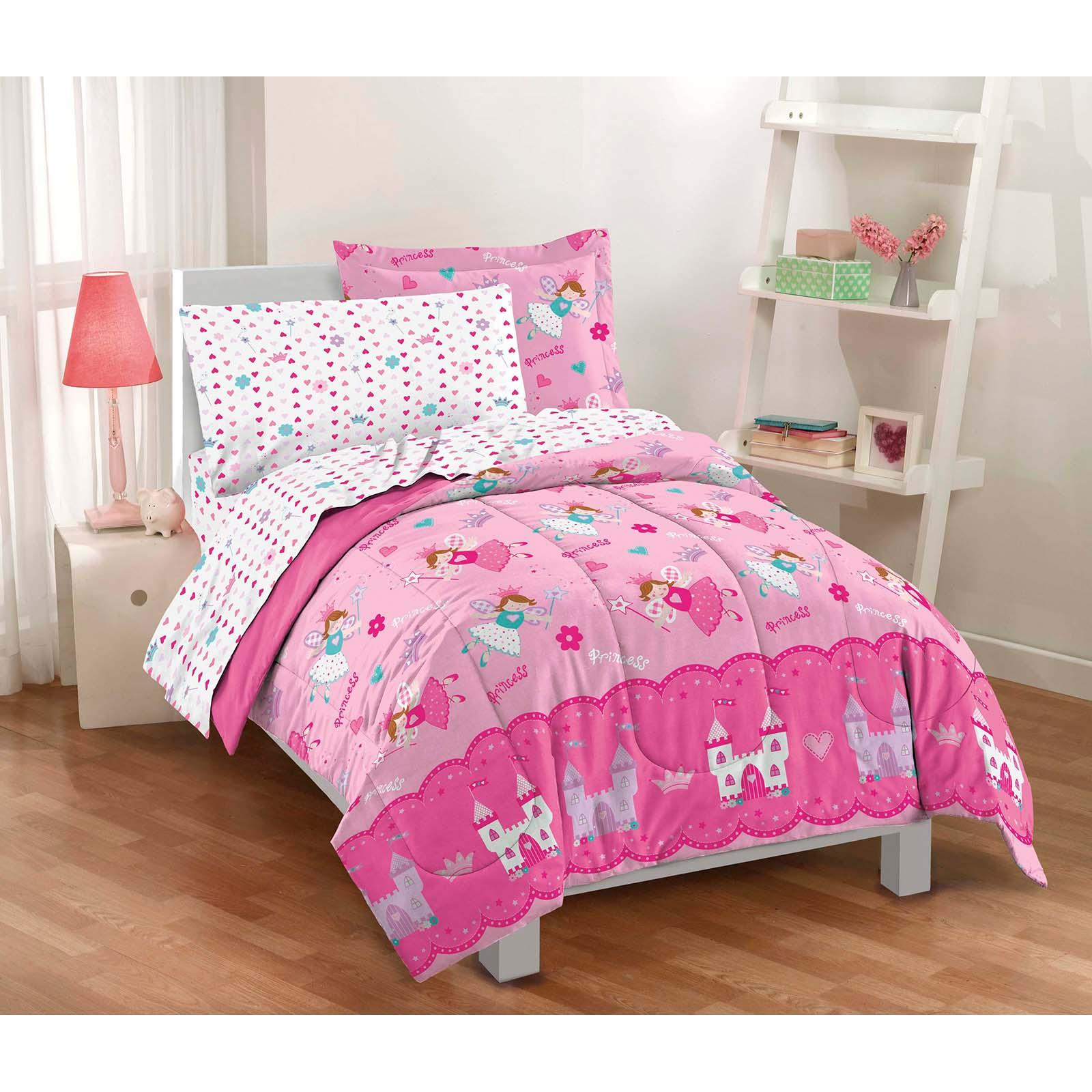 Dream Factory Magical Princess Twin Mini Bed in a Bag - 2...
