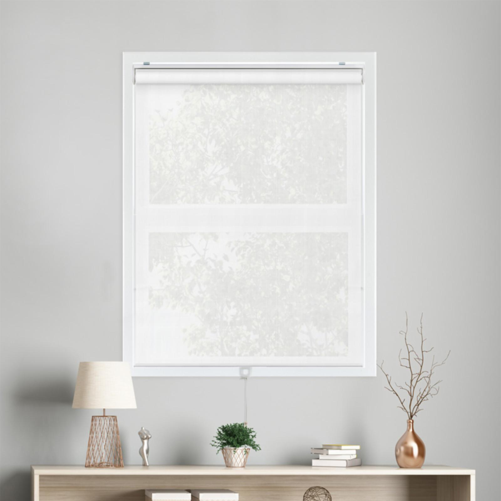 Chicology Snap-N-Glide Cordless Privacy Roller Shades