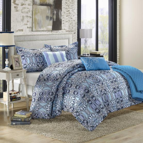 Chic Home Lynwood Luxury Bed in a Bag Reversible Comforter Set